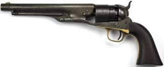 Colt Model 1860 Army Revolver, #58468 -