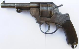 Svensk Marinrevolver m/1884, #G47457 -