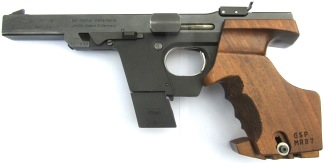 Walther GSP .32 S&W WC, #111238 -