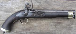 Flintlåspistol, Engelsk East India Company Cavalry Pistol 16-Bore -