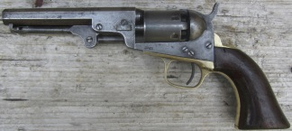 Colt Model 1849 Pocket Revolver, #226125 -