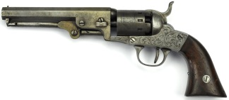 Manhattan Pocket Model Revolver London Pistol Company Variation, #1594 -