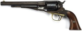 Remington New Model Police Revolver, #9865 -