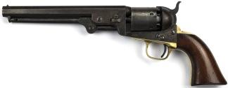 Colt Model 1851 Navy Revolver, #127601 -