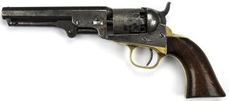 Colt Model 1849 Pocket Revolver, #298720 -