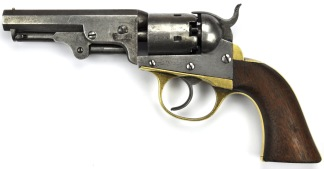 J. M. Cooper Pocket Model Revolver, #3971 -