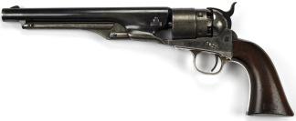 Colt Model 1860 Army Revolver, #64679 -