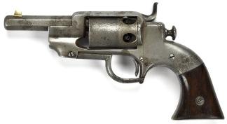 Allen & Wheelock Sidehammer Pocket Model Revolver, #870 -