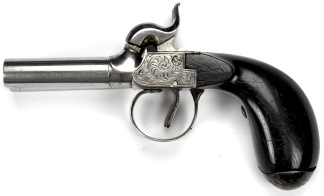 Slågslåspistol, dubbelpipig -