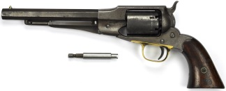 Remington Model 1861 Navy Revolver, #15574 -