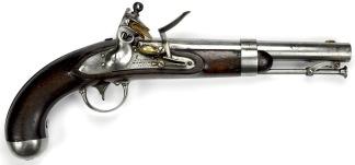 U.S. Model 1836 Flintlock Pistol -
