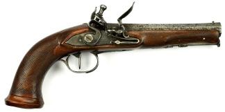 Flintlåspistol -