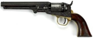 Colt Model 1849 Pocket Revolver, #322786 -