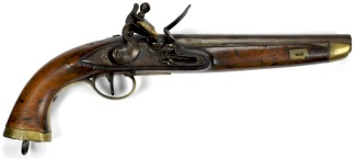 Model 1813 Flintlock Dragoon Pistol, United Kingdom of the Netherlands -