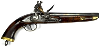 Model 1813 Flintlock Dragoon Pistol, Kingdom of Belgium -
