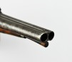 European Double Barrel Percussion Pistol