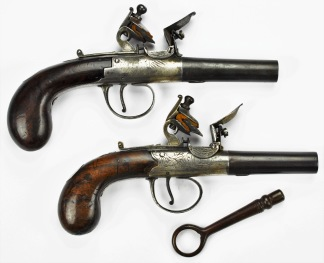 Traveling Pistols, Mabson & Labron -