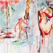 Christina Johnson exploring body red