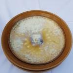 Anna Lindel glasyr med ostronskal