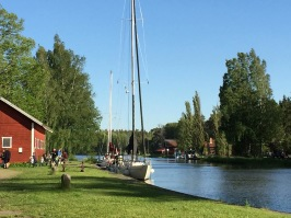Hajstorp vid Göta kanal