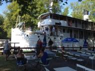 Juno passagerarbåt i hajstorp