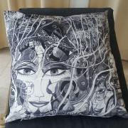 JAMAZEELA CUSHION COVER
