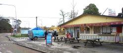 Kiosken i Furusunds färjeläge