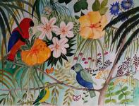 Papegojor 1.800:-