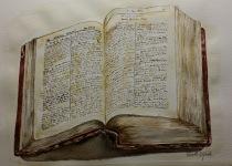 Gammal bibel igen 2.000:-