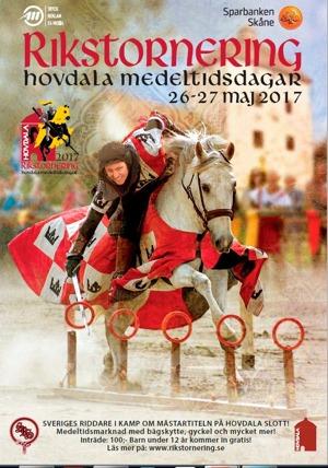 I år deltar vi för första gången på Rikstorneringen med ett lag från Dalecarlian Knights! Kom och heja på oss under Sveriges största Riddarfest 26-27 Maj!