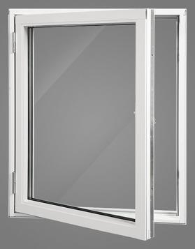 Halmstad Fönster AB - sidohängt fönster