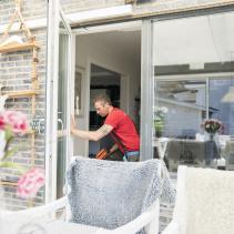Justering fönsterdörr