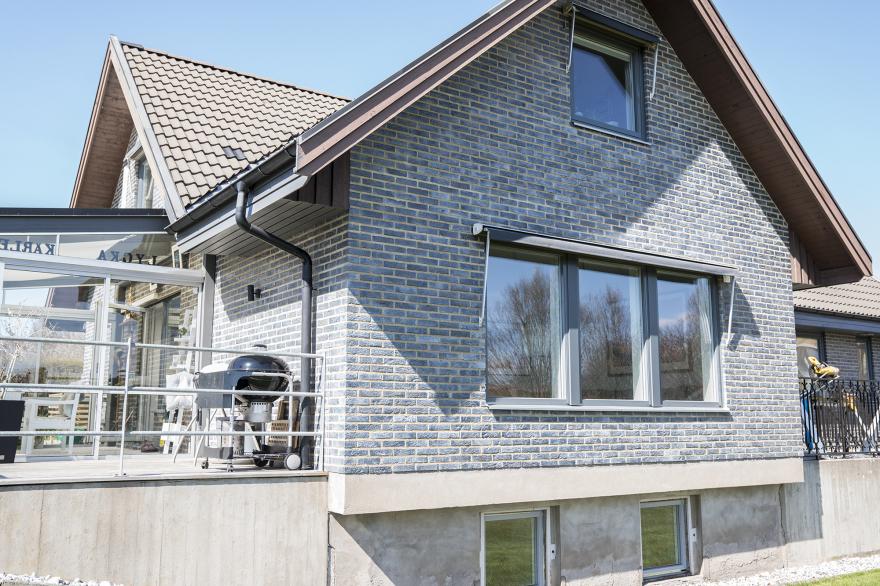 Fönsterbyte- och dörrbyte i villa på Mickedala, Halmstad