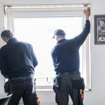 Montage vridfönster Knebilstorp