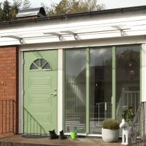 Ny dörr i Åled av Halmstad fönster