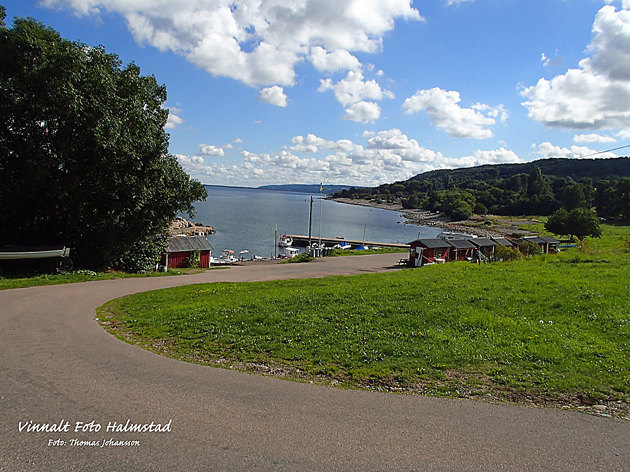 Under veckan en runda från Båstad till Hovs Hallar...bilden från Kattvik.