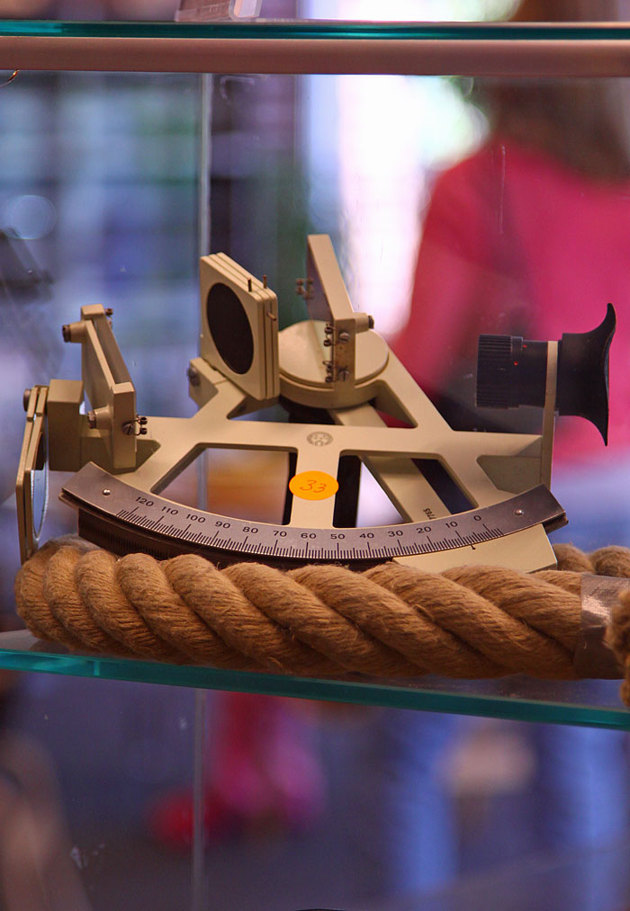 Tyckte min sextant kunde komma till heders, använd under två ensamseglingar över Atlanten