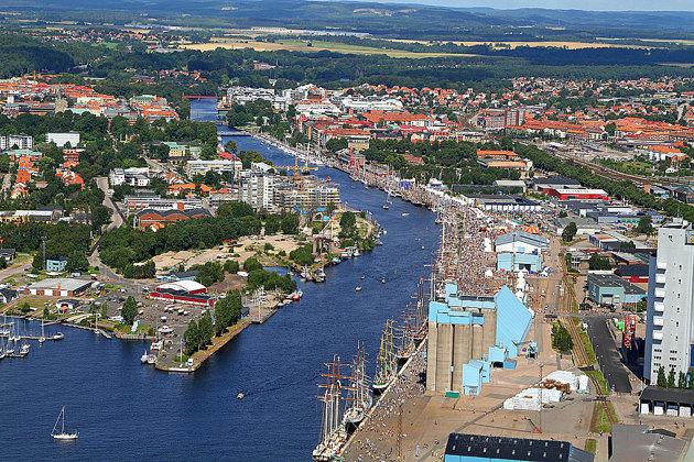Event området Tall Ships Races Halmstad 2011 som jag fotograferade åt Halmstad & co..