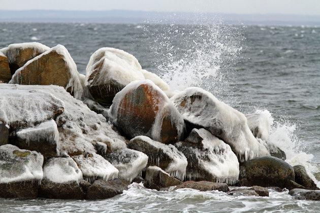 Hamnpiren i Kattvik..