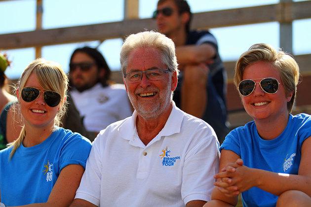 Leif Nilsson Hylte Volleys trevliga ordförande