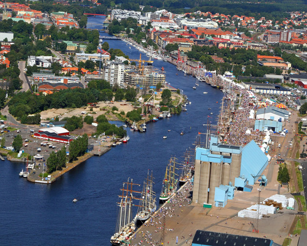 Event området Tall Ships Races fotograferad 2011-08-06 13.02. Kommer att finnas i bla canvas till min fotoutställning Vallås Bibliotek Halmstad 29/10 - 21/11 2011.