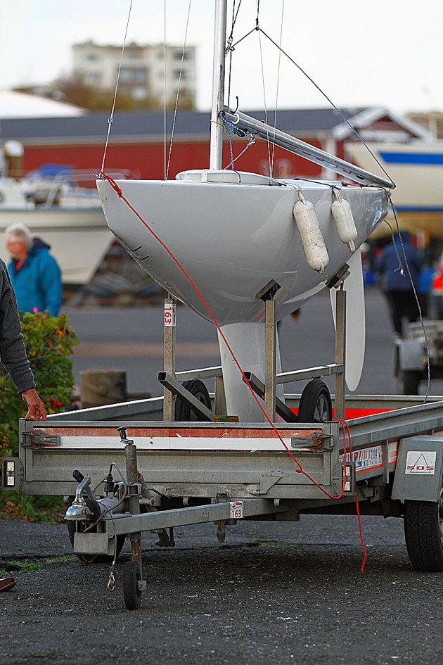 Enkel båt att hantera.