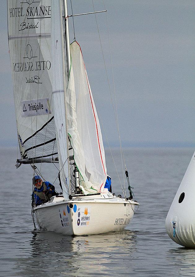 Den älsta deltagaren nu i helgen är 73 år och seglar fortfarande på toppen