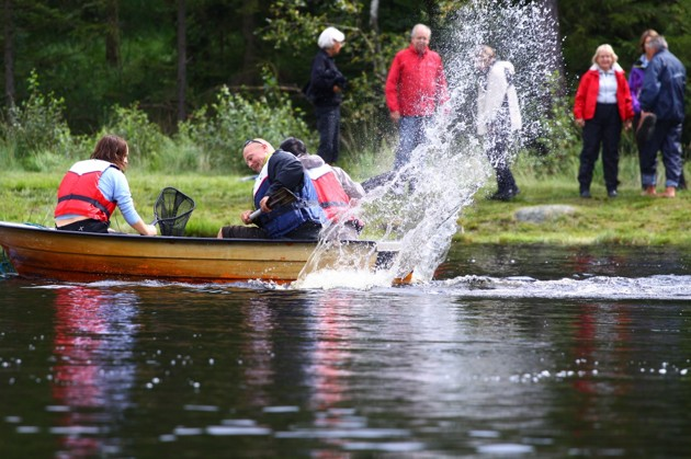 Helt övertygad att det skulle sett ut så här om mina vänner suttit i den båten!!