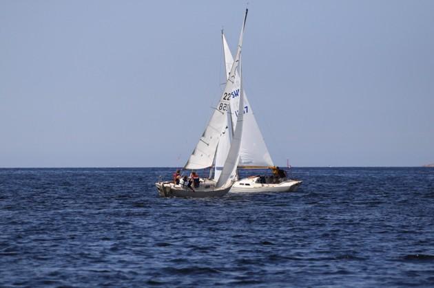 En IF och en Folkbåt