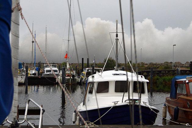 Utsikten från min båt just nu...