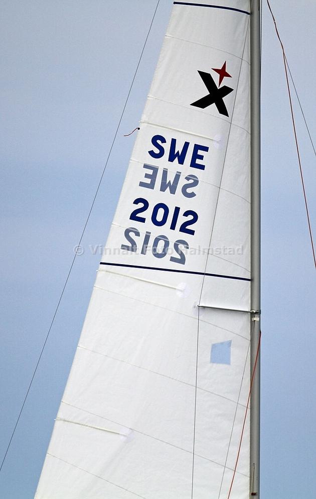 En av express båtarna hade 2012 som segelnummer...årets SM