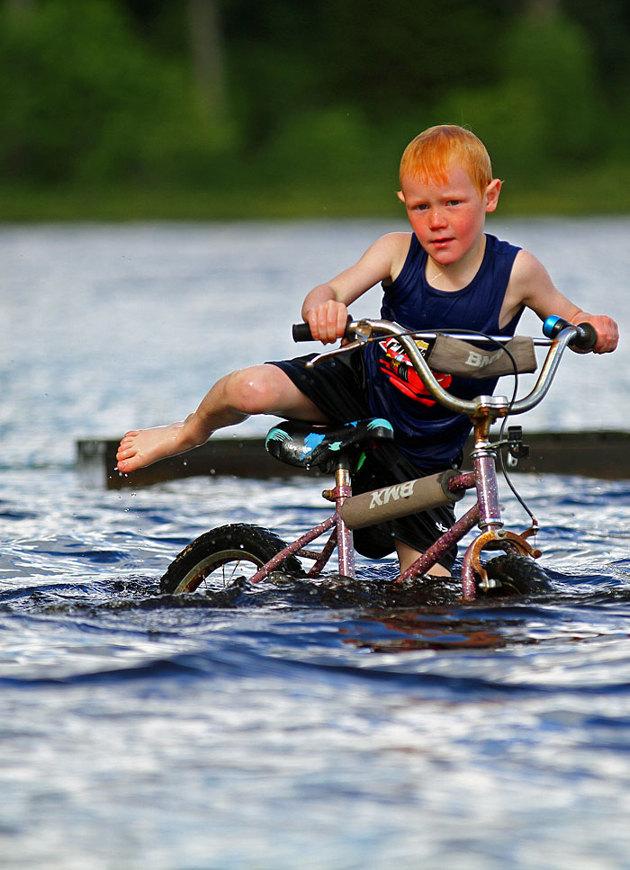 Är det en vatten cykel??