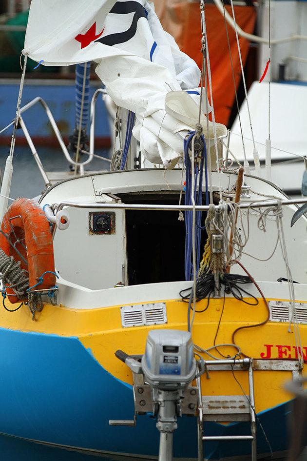 Vi som seglar i dessa farvatten kan notera att det hänt något på denna bild..