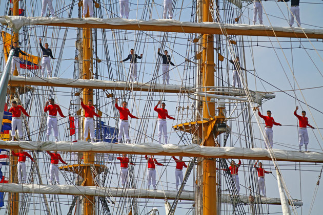 Gloria Tall Ship Races